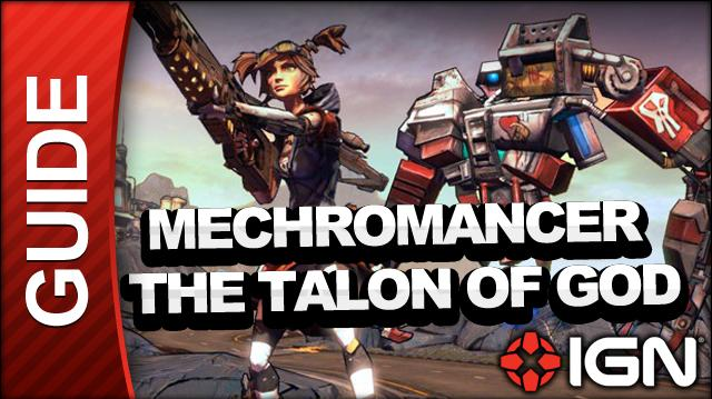 Borderlands 2 Mechromancer Walkthrough - The Talon of God - Part 16b