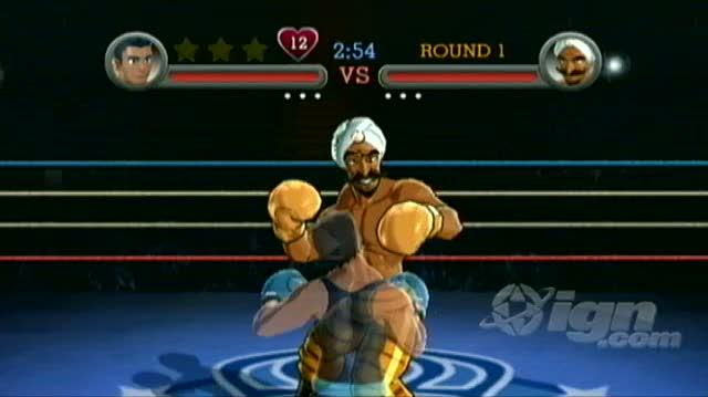 Punch-Out!! Nintendo Wii Guide-Walkthrough - Walkthrough Exhibition Challenges - Great Tiger