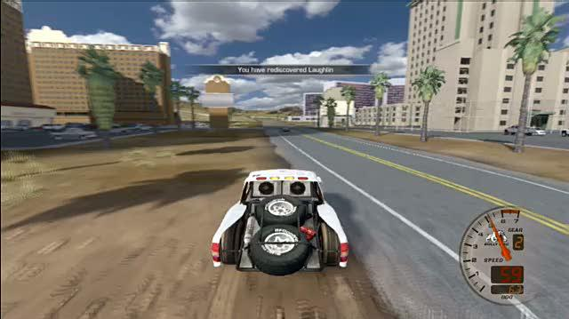 Baja Edge of Control Xbox 360 Gameplay - Trophy Truck Free Ride