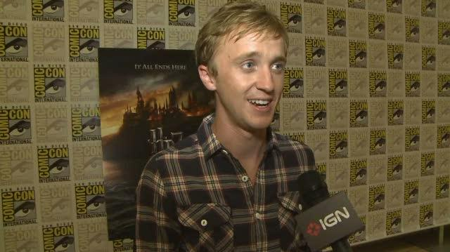 Harry Potter and the Deathly Hallows Part I Movie - SDCC 10 Tom Helton Interview