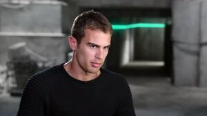Divergent - Theo James Interview 'On His Character'