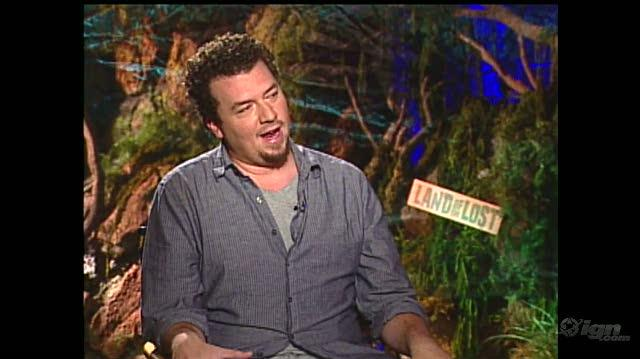 Land of the Lost Movie Interview - Danny McBride