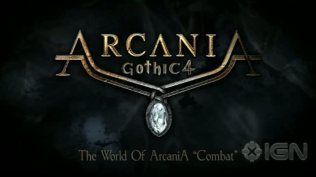 Arcania Gothic IV PC Games Trailer - Combat Gameplay Video