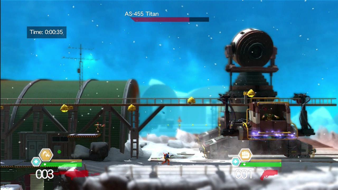 Bionic Commando Rearmed 2 - Boss Battle