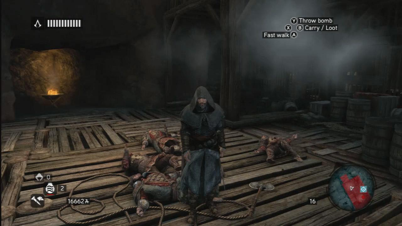 Assassin's Creed Revelations - Four Guards, One Ezio - Gameplay
