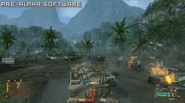 Crysis Warhead PC Games Gameplay - Driving (HD)