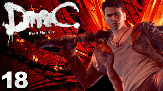 DMC Devil May Cry Walkthrough Part 18 Demon's Den (W Commentary)