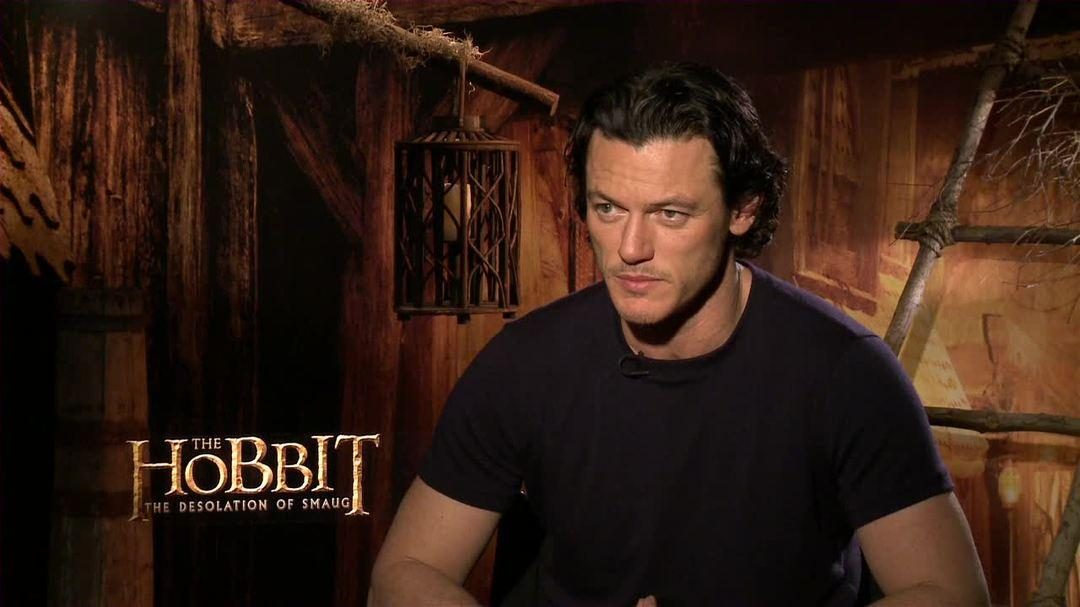 The Hobbit The Desolation of Smaug - Luke Evans Interview