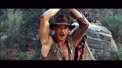 Indiana Jones and the Temple of Doom The Complete Adventures Blu-Ray (1984) - Clip The Bridge