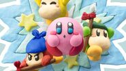 Kirby and the Rainbow Curse Co-op Gameplay