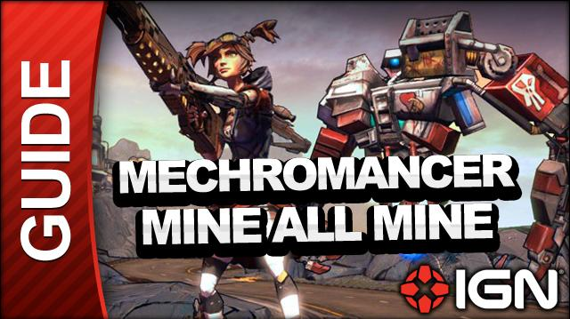 Borderlands 2 Mechromancer Walkthrough - Mine All Mine - Side Mission