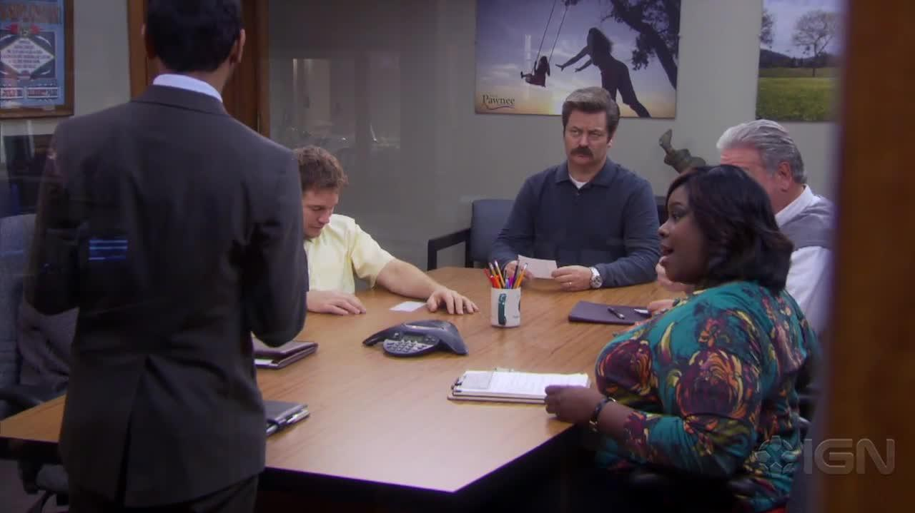Parks and Recreation Tom's Money