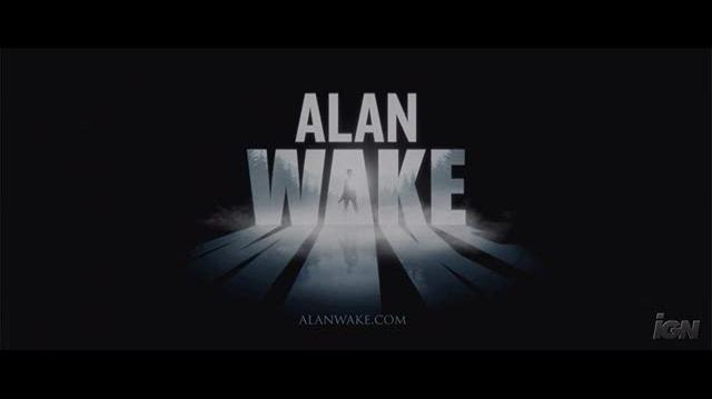 Alan Wake Xbox 360 Trailer - Alan Is Awake Trailer