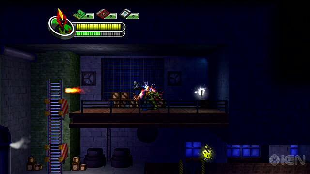 Ben 10 Alien Force The Rise of Hex X360 - Platform Fight