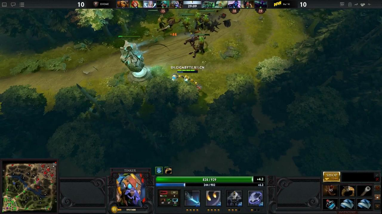 DOTA 2 Swarm Gameplay