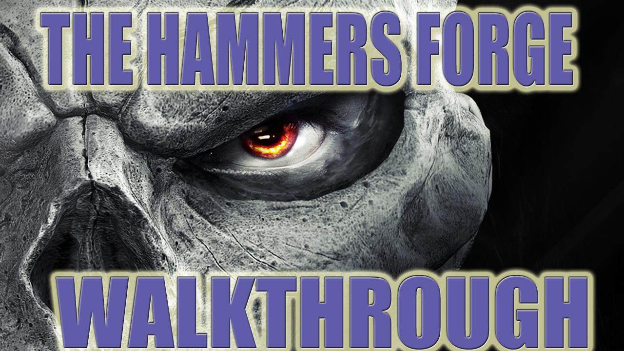 Darksiders II The Hammer's Forge Side Quest Walkthrough - Gameplay