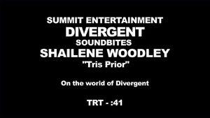Divergent - Shailene Woodley Interview 'On the World of Divergent'
