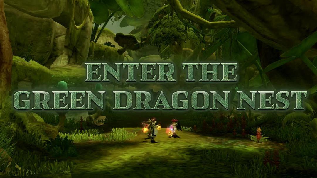 Dragon Nest - Green Dragon Gameplay Trailer