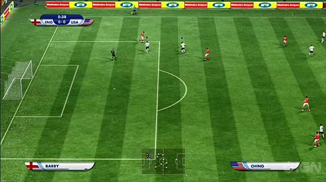 2010 FIFA World Cup South Africa Xbox 360 Gameplay - USA vs