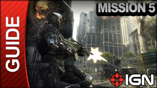 Crysis 2 - Mission 5 Gate Keepers - Walkthrough