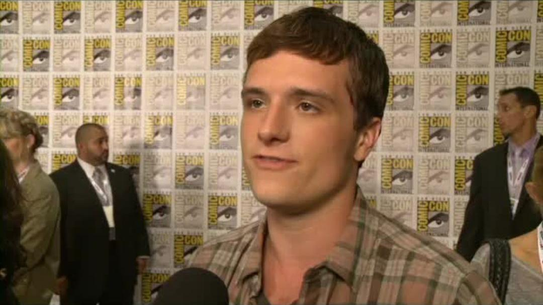 Catching Fire Comic-Con 2013 Interview - Josh Hutcherson