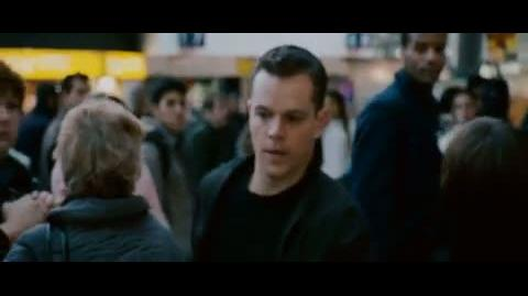 The Bourne Ultimatum - Chasing Bourne through Waterloo station