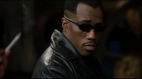 Blade II - Blade returns to the base