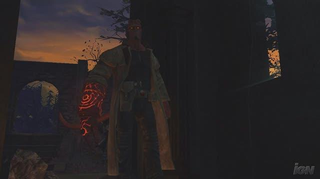 Hellboy The Science of Evil Xbox 360 Gameplay - Spooky Cutscene