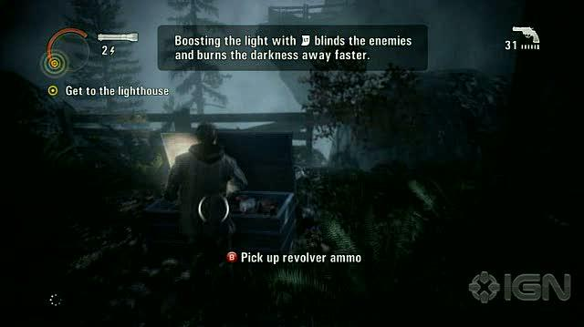 Alan Wake X360 - Walkthrough - Alan Wake - Nightmare Difficulty - Episode 1 - Lighthouse