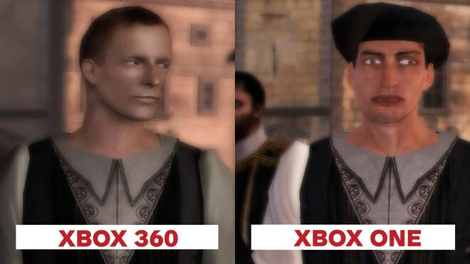 Assassin's Creed 2 Graphics Comparison Xbox 360 vs