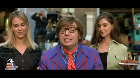 Austin Powers in Goldmember - Austin is unhappy