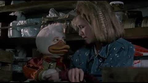 Howard the Duck - driving to the lab