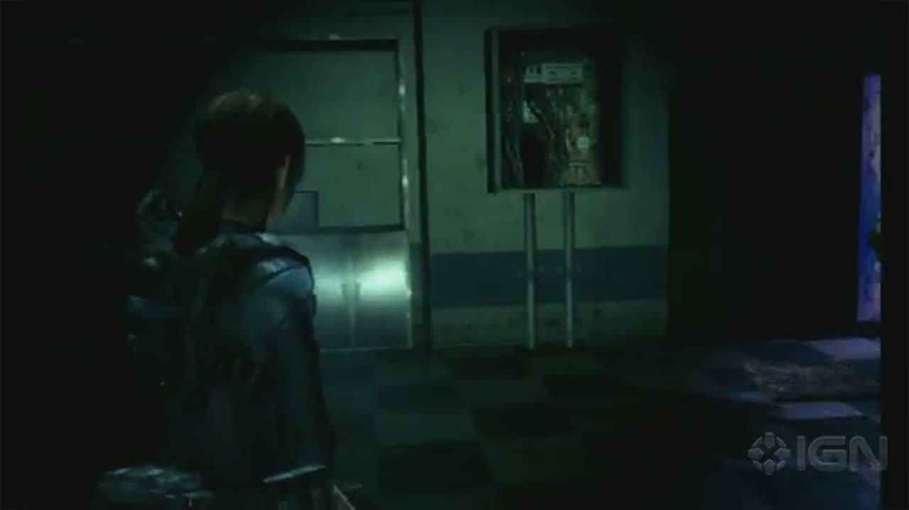 Resident Evil Revelations - Battling the Ooze
