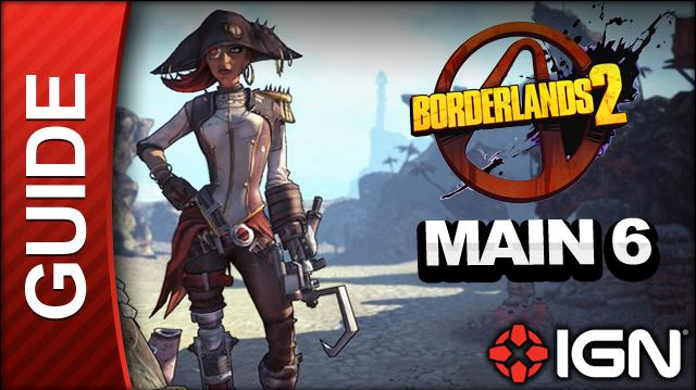 Borderlands 2 Captain Scarlett and Her Pirate's Booty DLC Walkthrough - Crazy About You - Main Mission (Part 6)