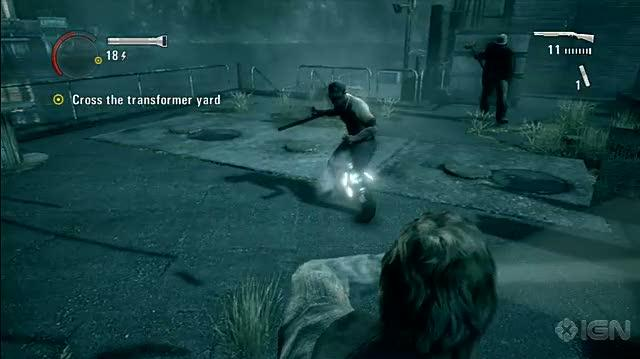 Alan Wake Xbox 360 Gameplay - Flash Bang