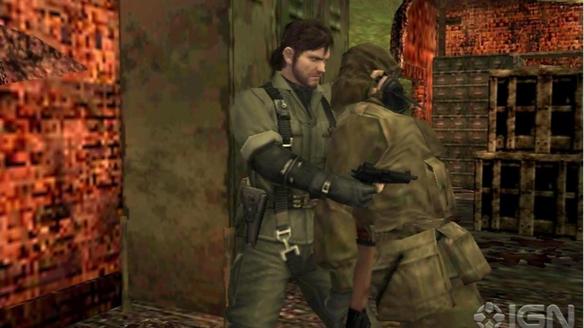 Gamescom Metal Gear Solid Snake Eater 3D Sneak Attack ( Off-Screen)