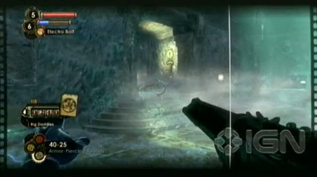 BioShock 2 Xbox 360 Guide-Walkthrough - Walkthrough Big Daddy Fight in Dionysus Park 2