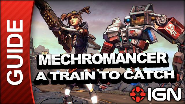 Borderlands 2 Mechromancer Walkthrough - A Train to Catch - Part 7a