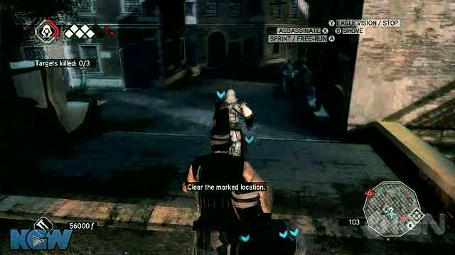 Assassin's Creed 2 X360 - Walkthrough - Assassin's Creed 2 MS 10 - Assume the Position