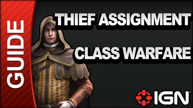 Assassin's Creed Brotherhood Walkthrough - Thief Assignments Class Warfare