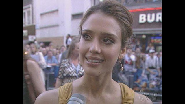 Fantastic Four Rise of the Silver Surfer Movie Interview - Jessica Alba