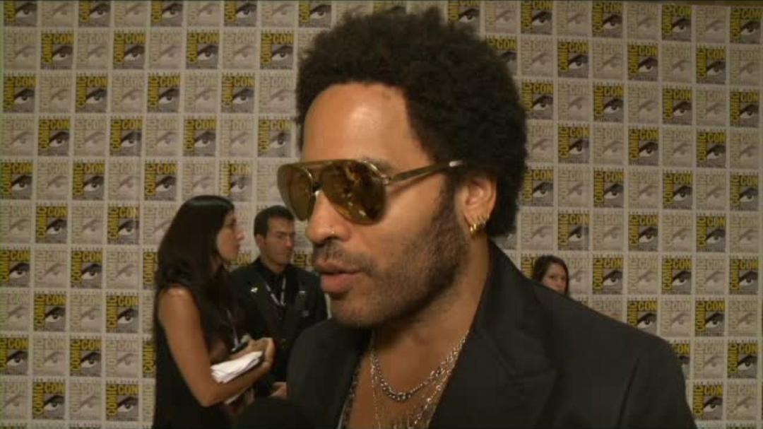 Catching Fire Comic-Con 2013 Interview - Lenny Kravitz