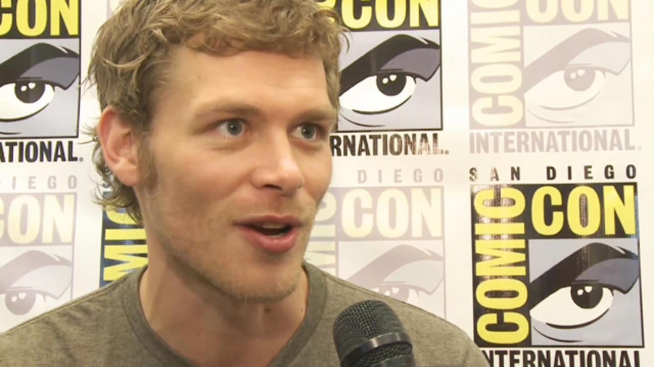 Comic-Con - Vampire Diaries - Joseph Morgan Interview