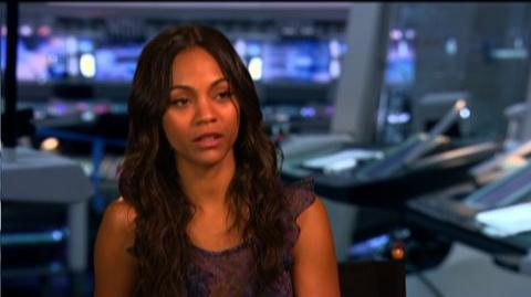 "Star Trek (2009) - Interview Zoe Saldana ""On her character Nyota Uhuru"""
