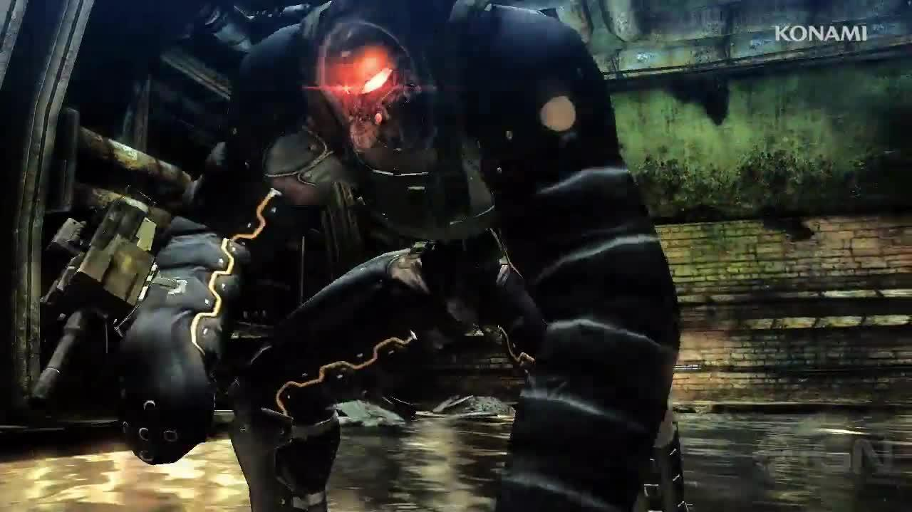Metal Gear Rising Revengeance - Unmanned Gears Trailer MetalGearSolidTV