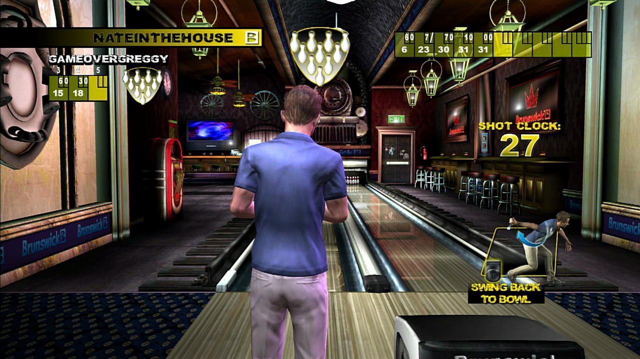 Brunswick Pro Bowling Gameplay 1 Clip