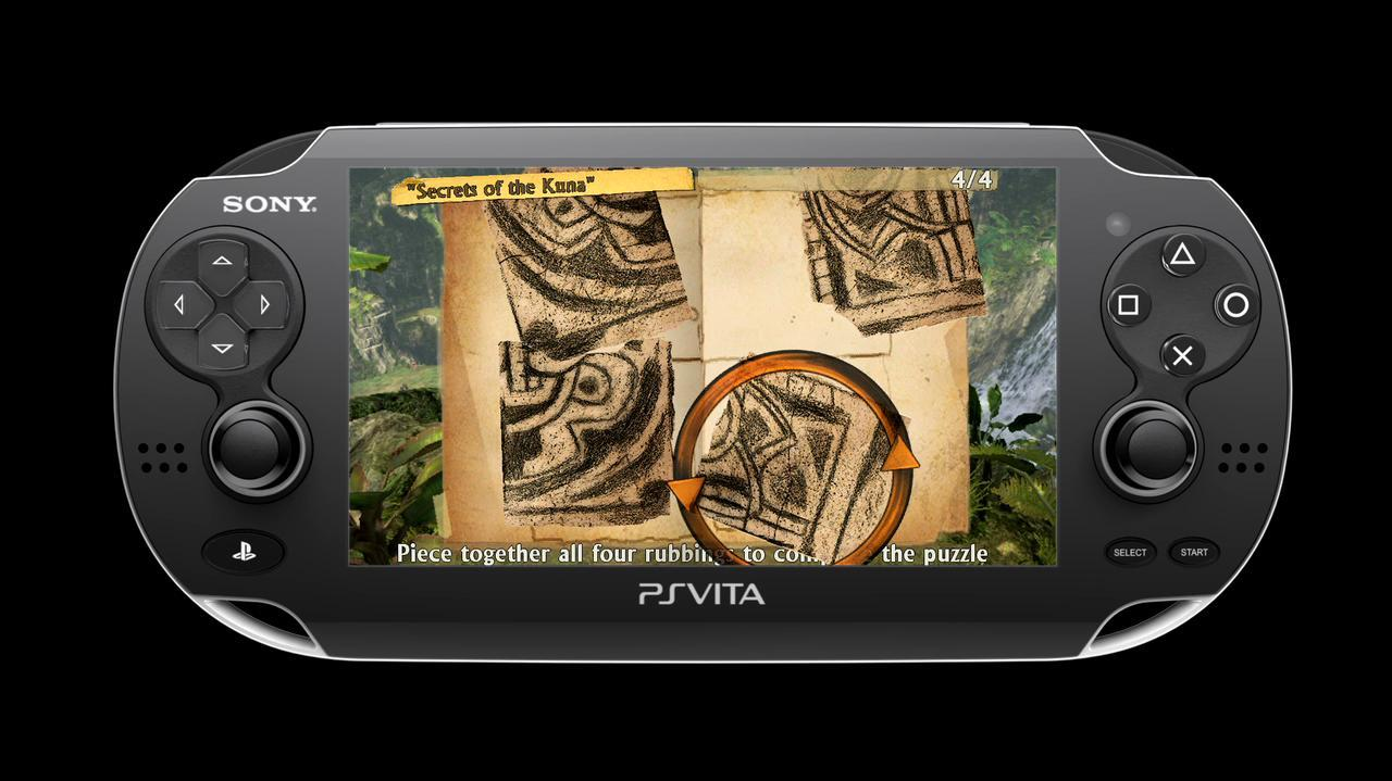 E3 2011 Uncharted Golden Abyss - Gameplay