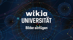 Wikia-Universität - Bilder einfügen