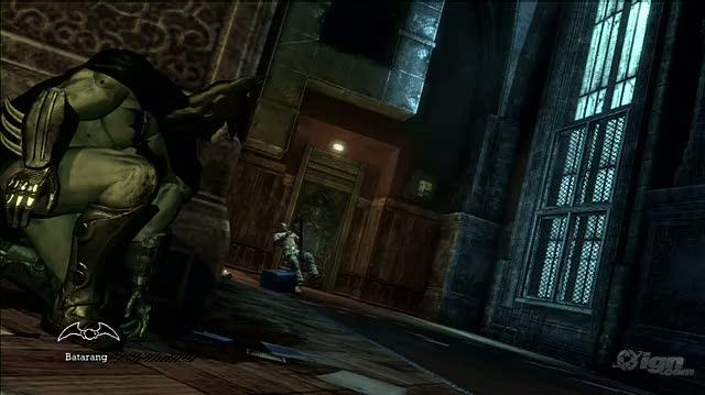 Batman Arkham Asylum PlayStation 3 Gameplay - Corner Move (PS3 Footage)