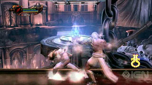 God of War III PlayStation 3 Guide-Walkthrough - Walkthrough - Boss - Zeus - Part 1